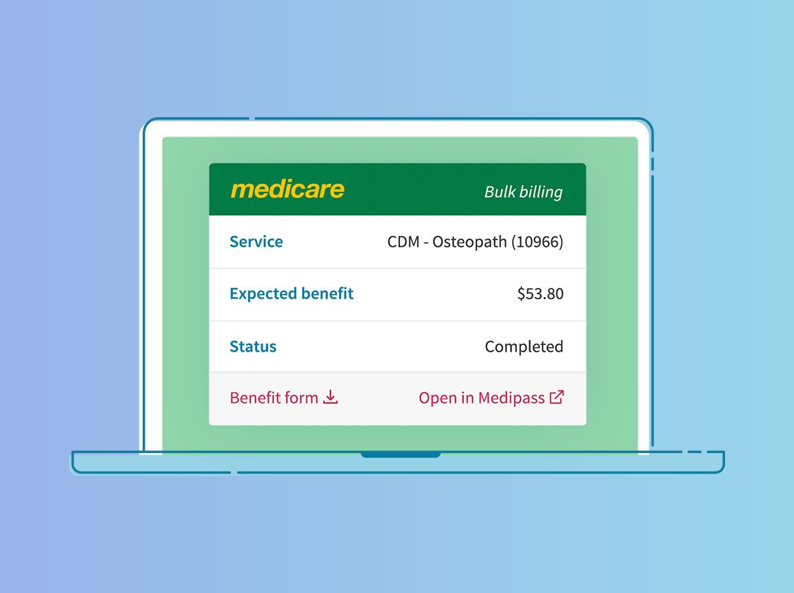Making a Medicare claim as a practitioner in Cliniko