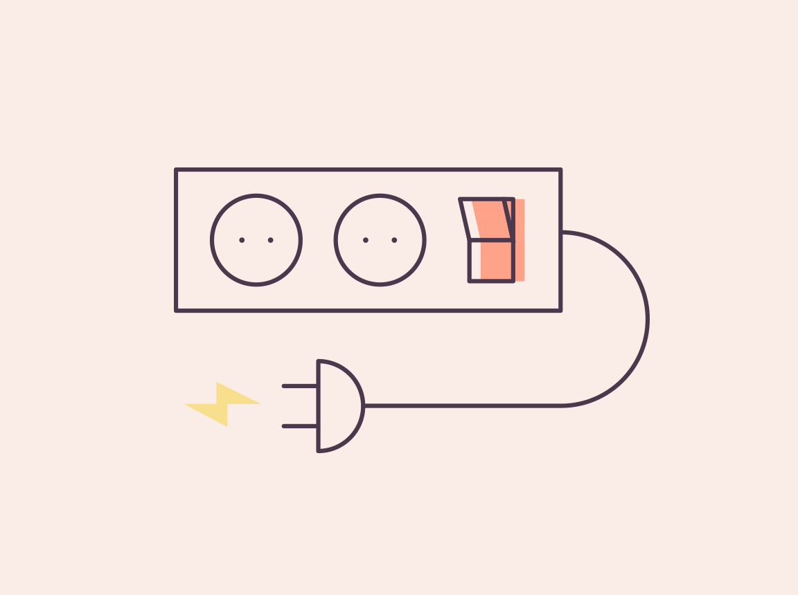 An illustration of a multi-plug