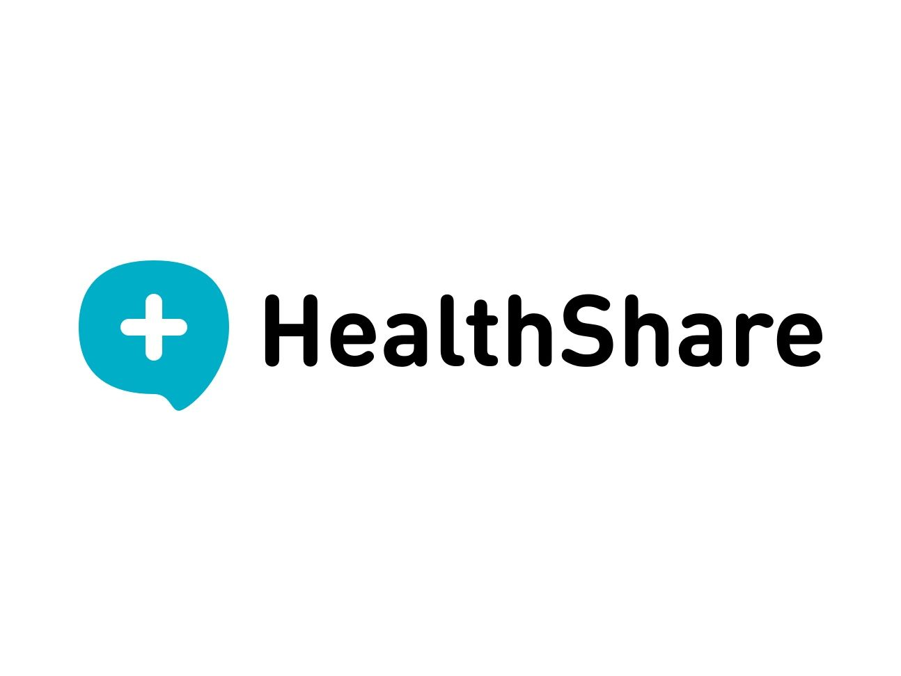 Powering better health - HealthShare logo