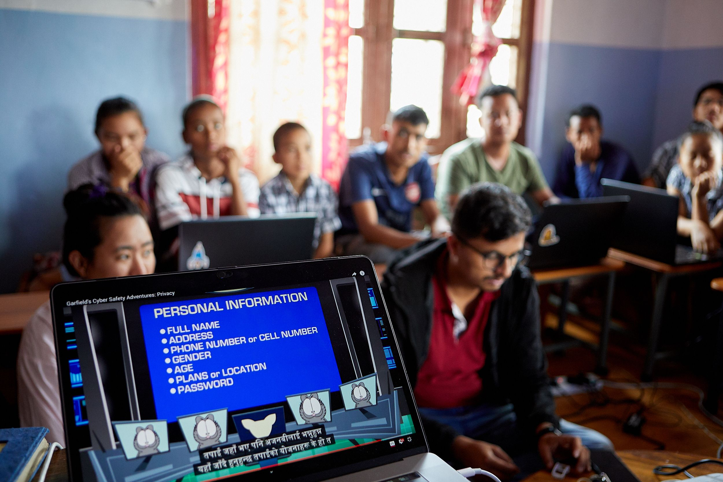 Technology trainers in Nepal