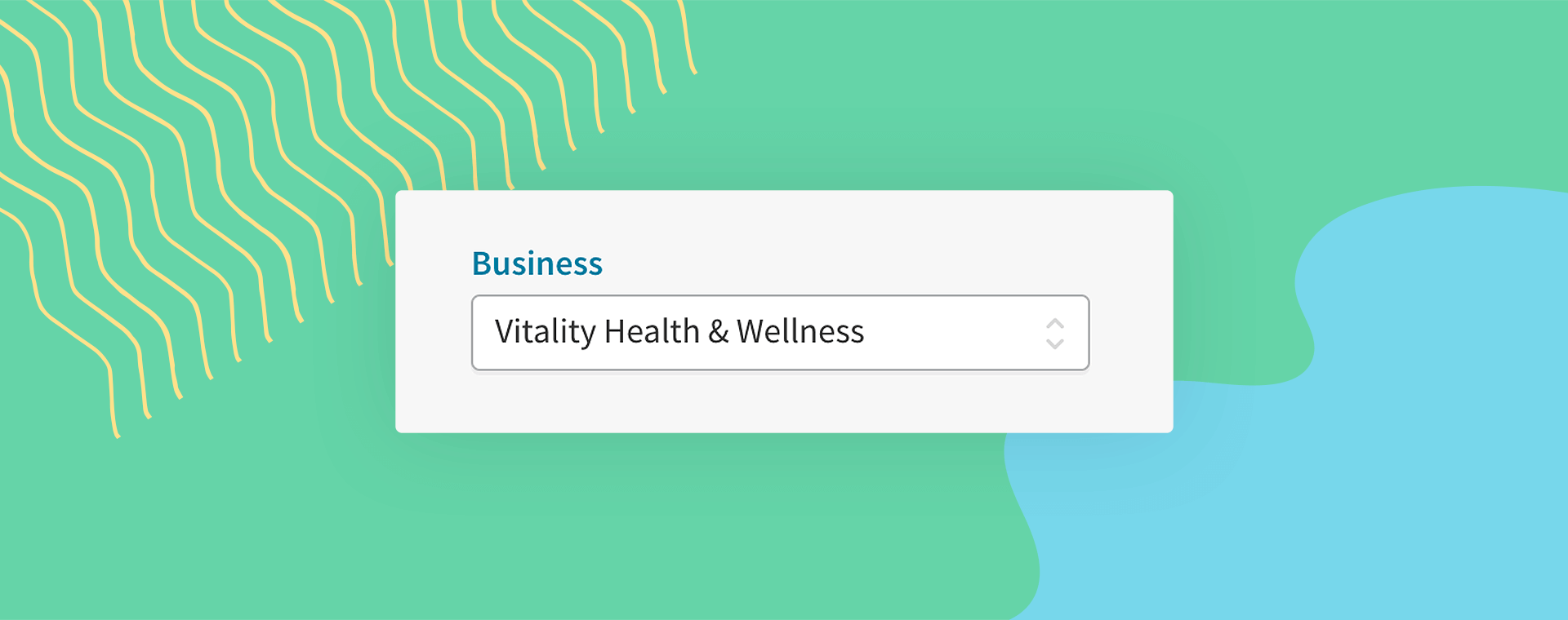 A screenshot of Cliniko's new business filter for patient account statements.