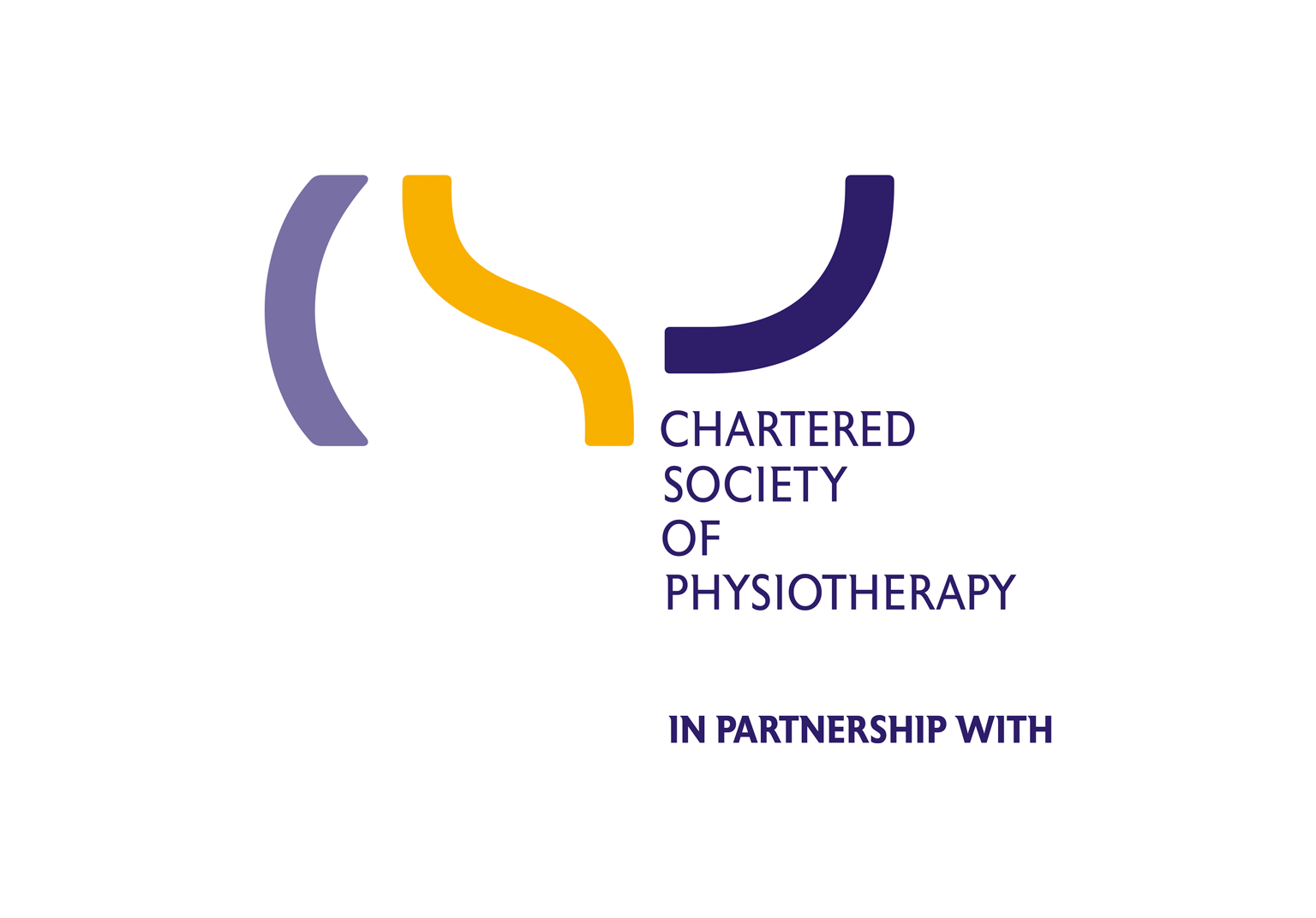 The official Chartered Society of Physiotherapy partnership logo