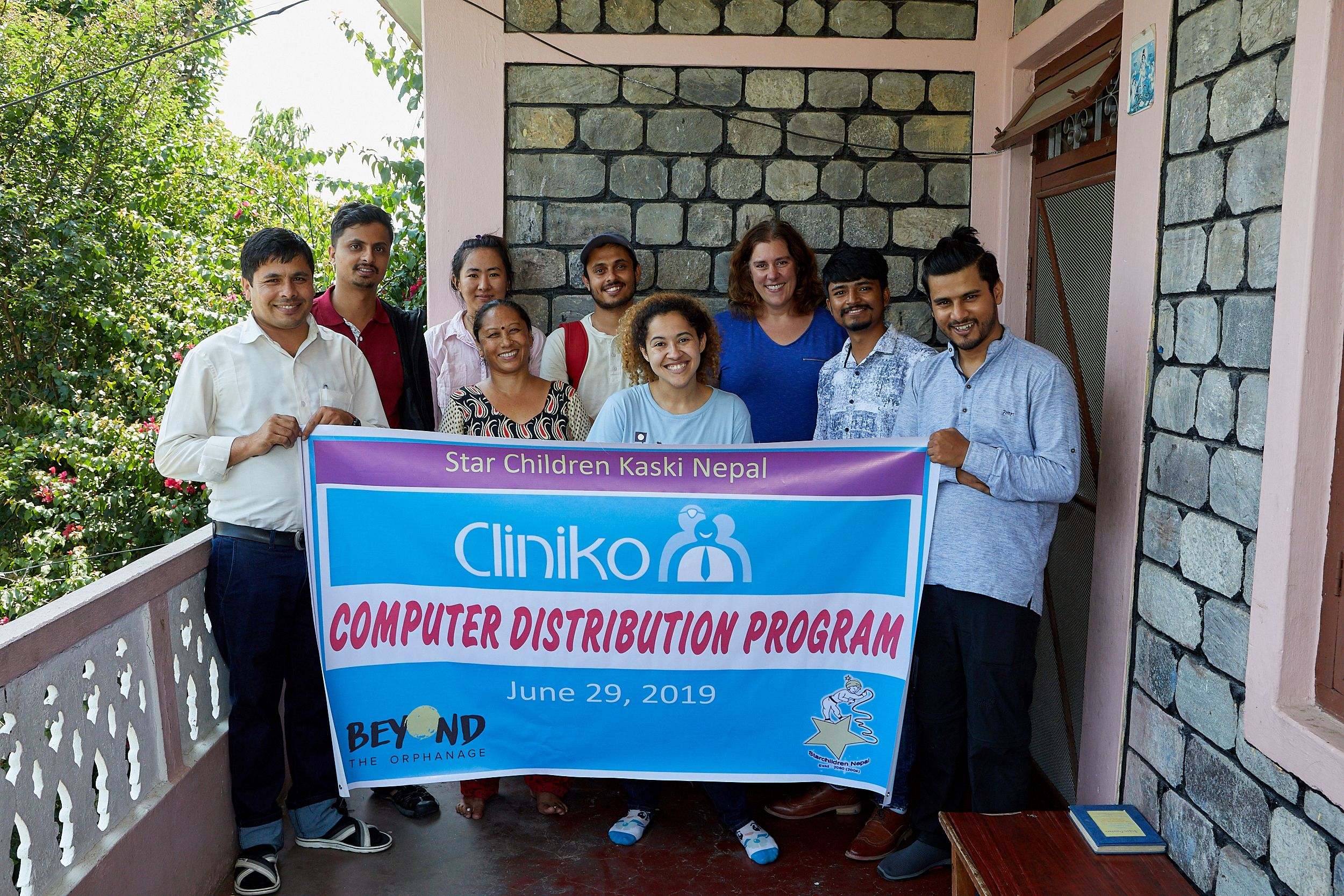 Cliniko's Rachel launches the Beyond the Orphanage & Cliniko laptop project