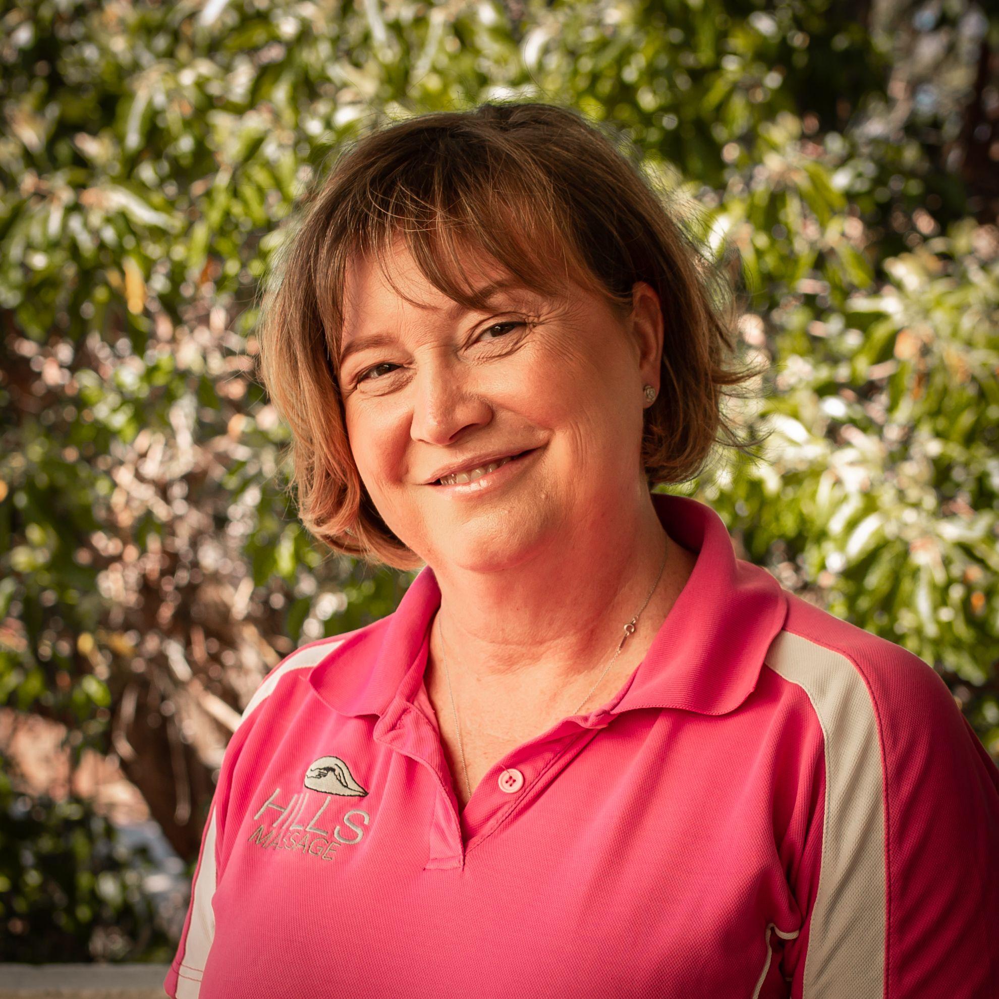 Michelle Rimmer, owner of Hills Massage in Western Australia