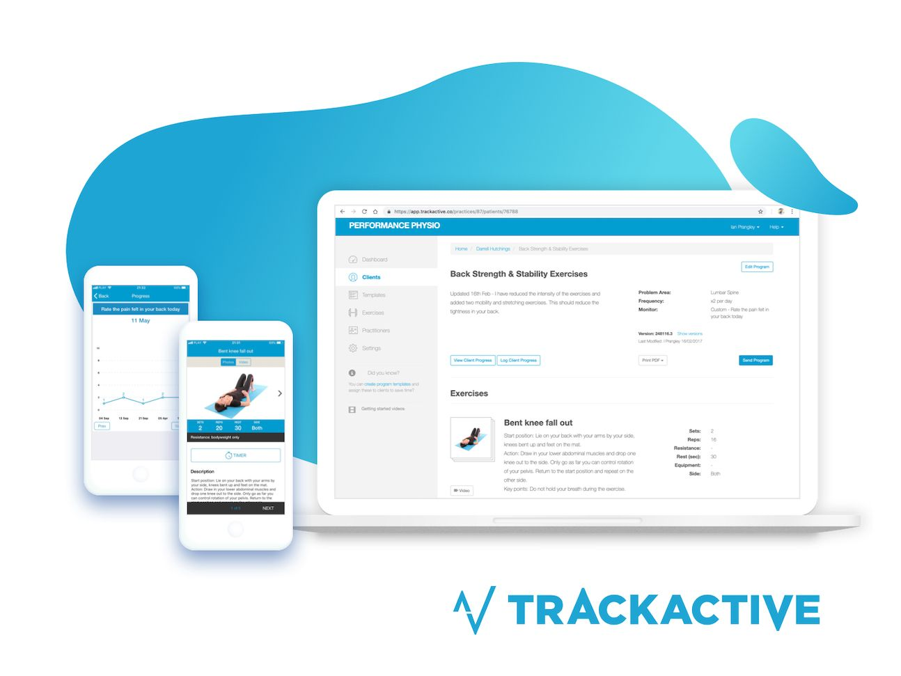 TrackActive Integration, Computer and Mobile