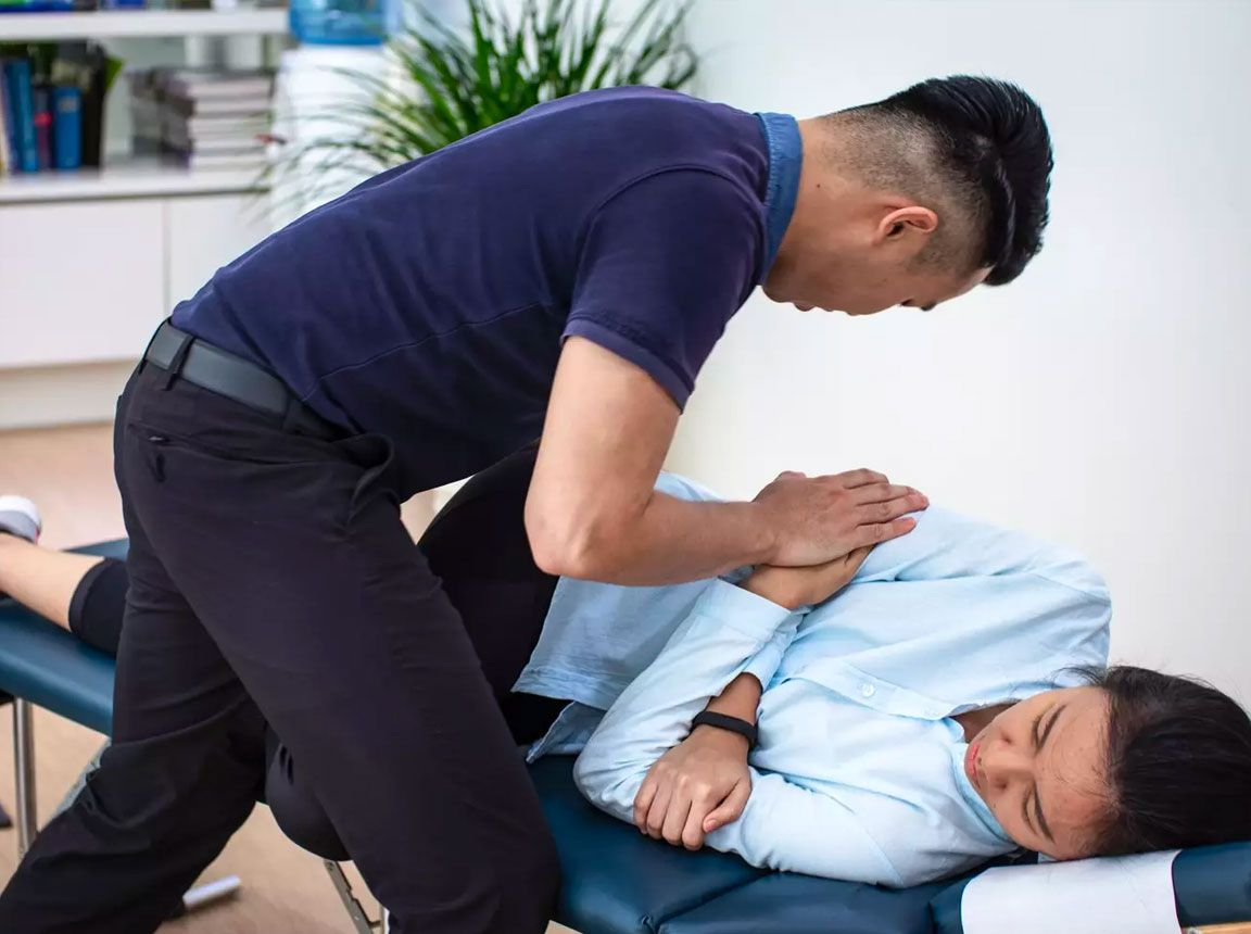 Chiropractic therapist at Spinefit Chiro & Physio