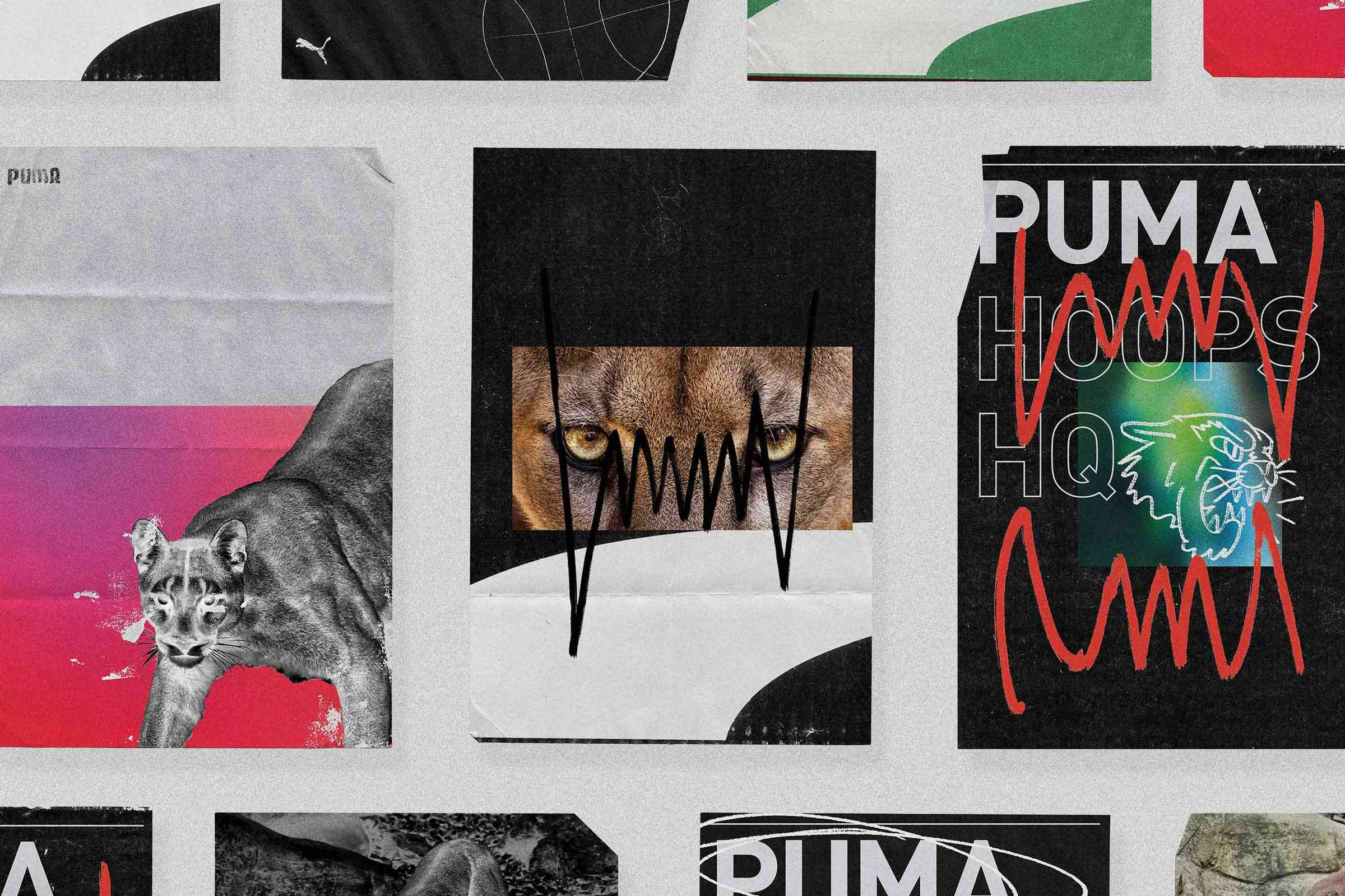 Posters for PUMA.