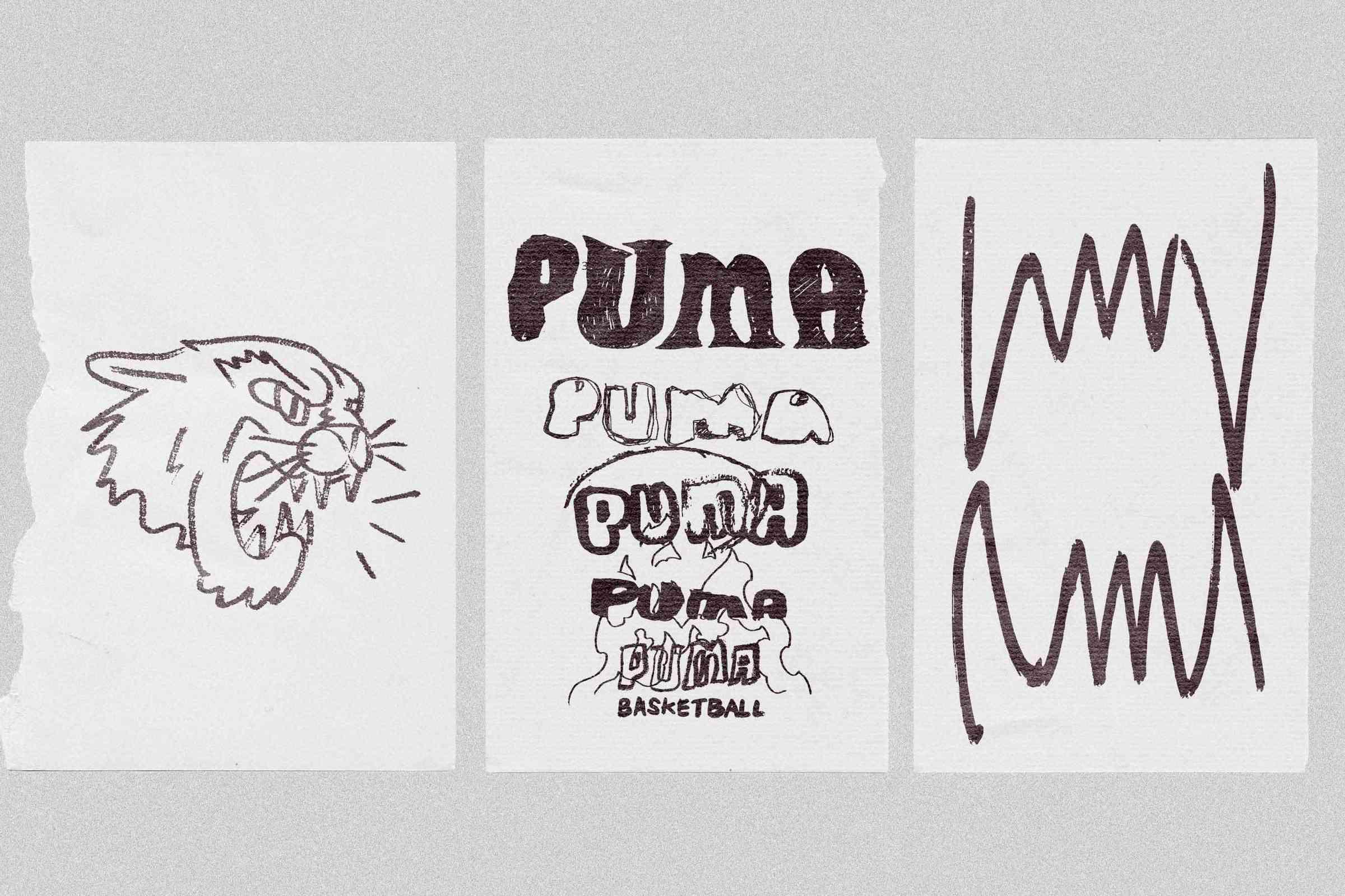 Sketches for PUMA.