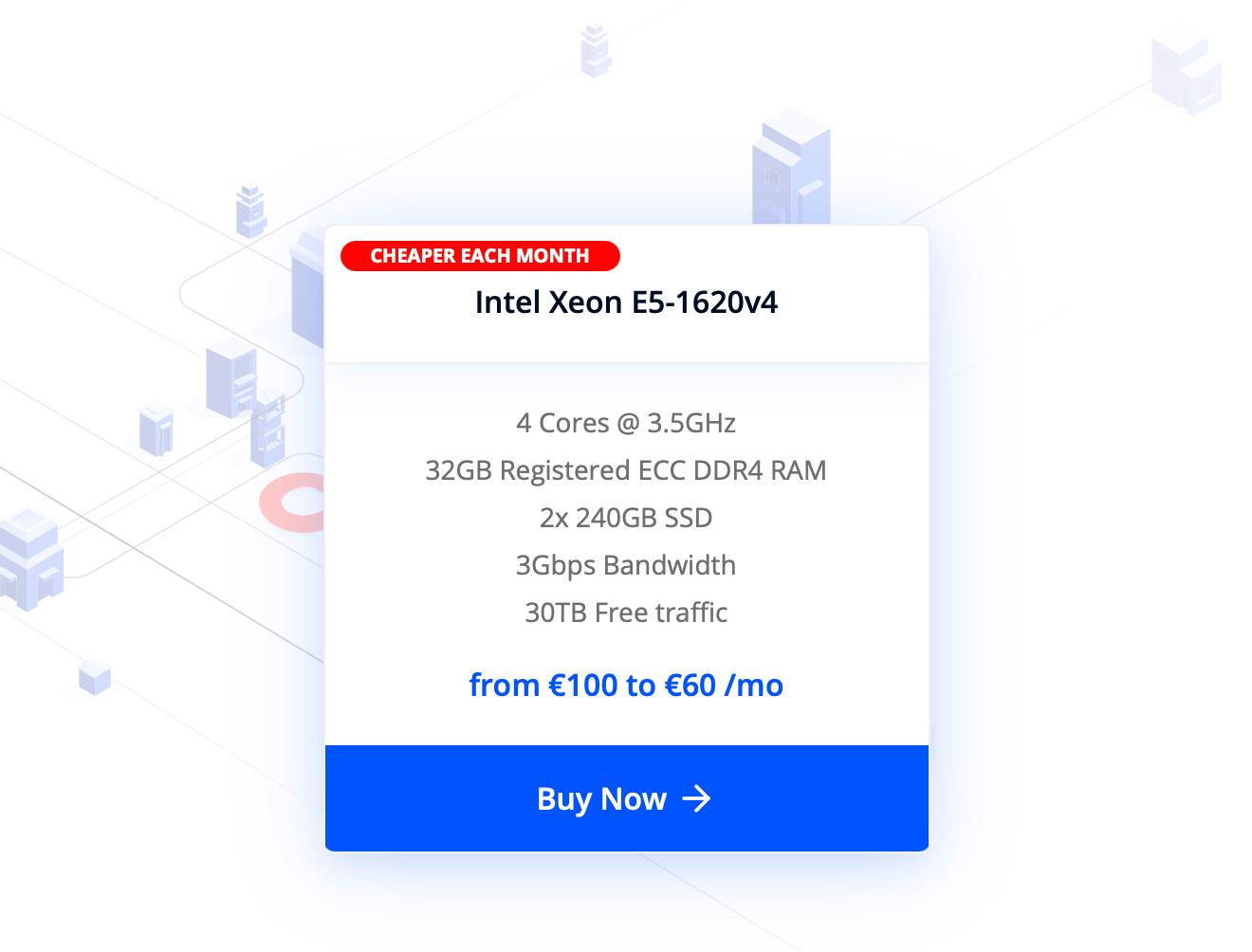 Dedicated server 2021 Limited Deal