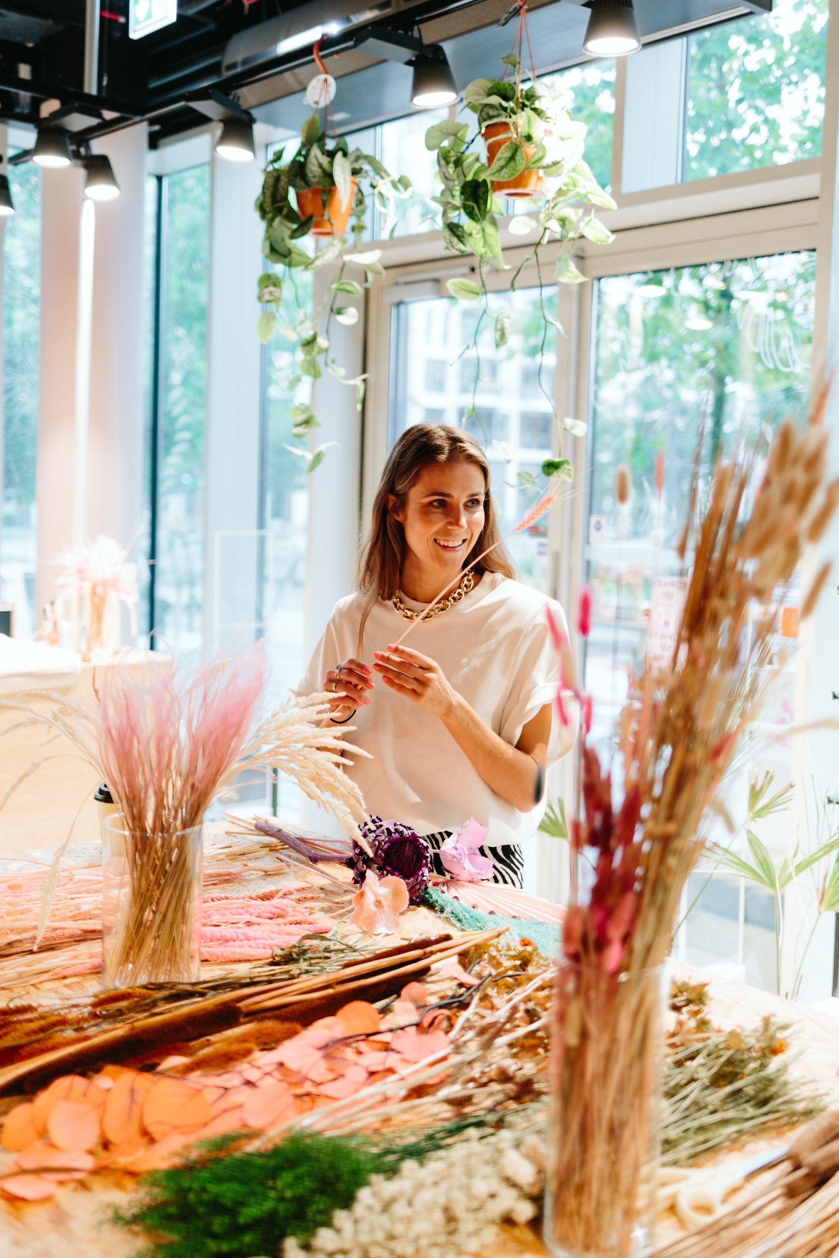 Blomsterbinding & lunsj i Barcode
