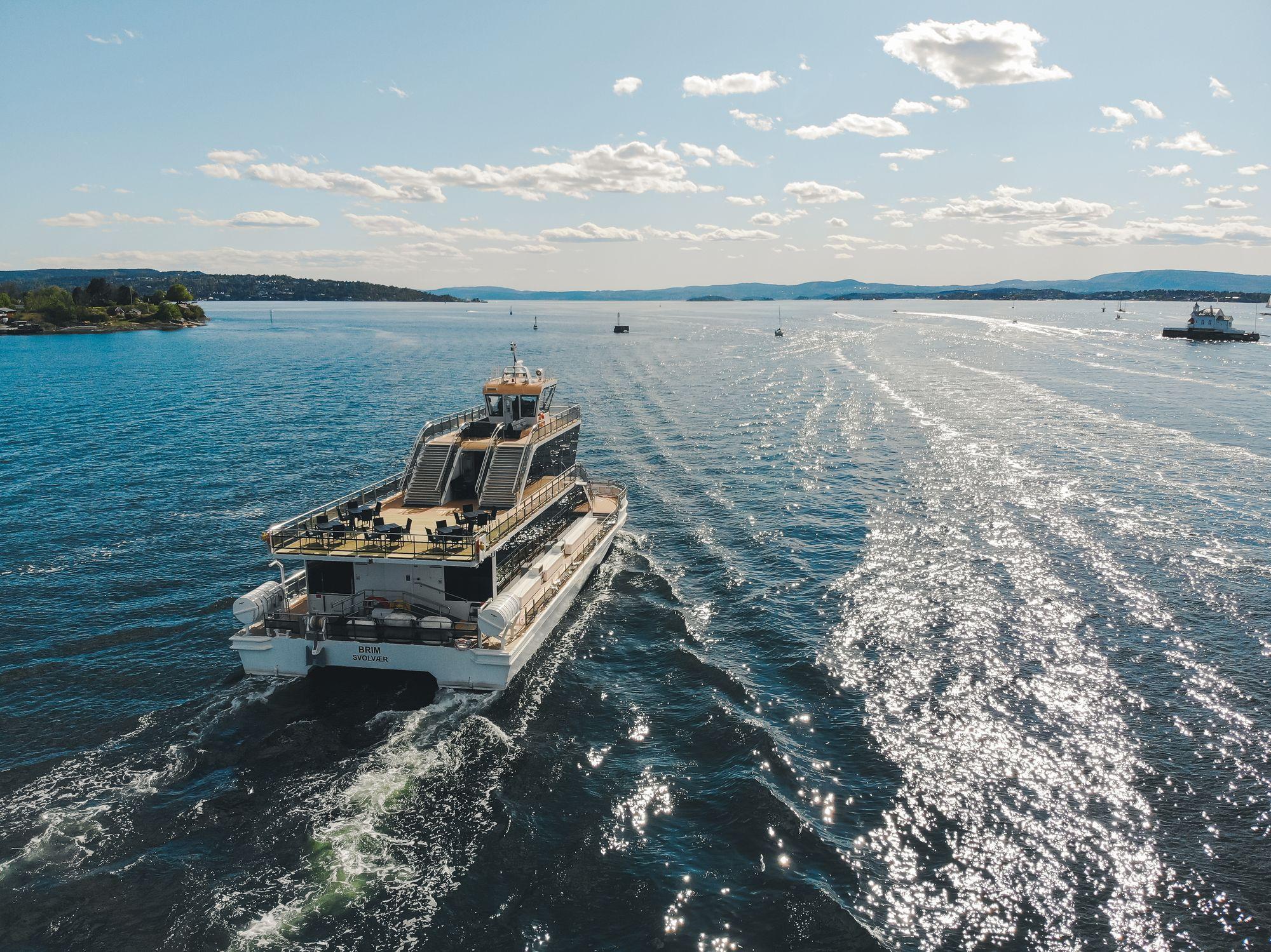 Opplev Oslofjorden ombord på Brim Explorer i sommer