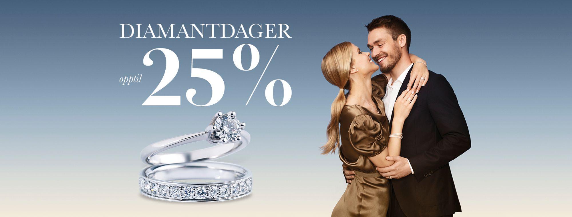 Diamantdager hos Thune på Munch Brygge med opptil 25% rabatt