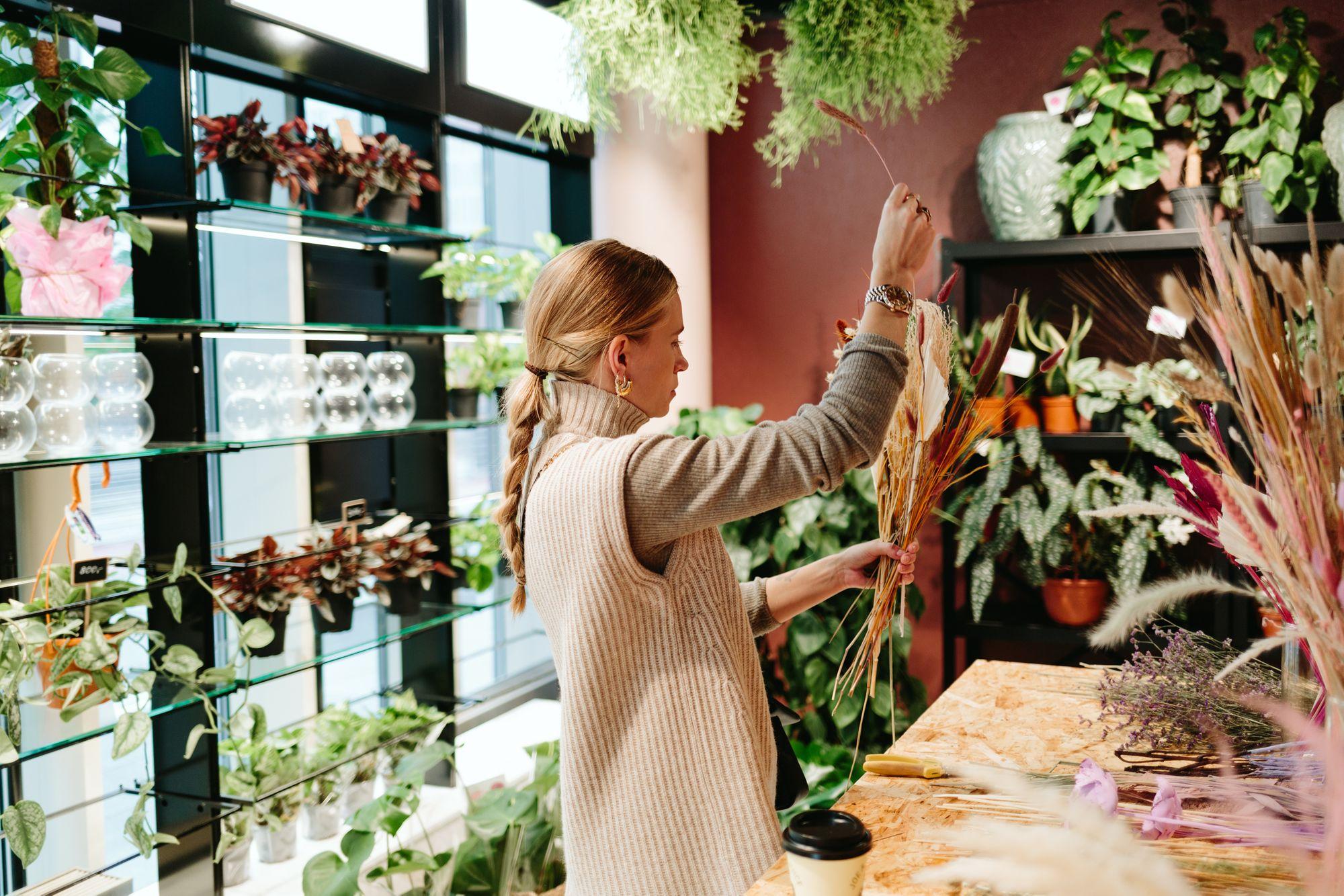 Blomsterworkshop hos Franko Fleur i Barcode