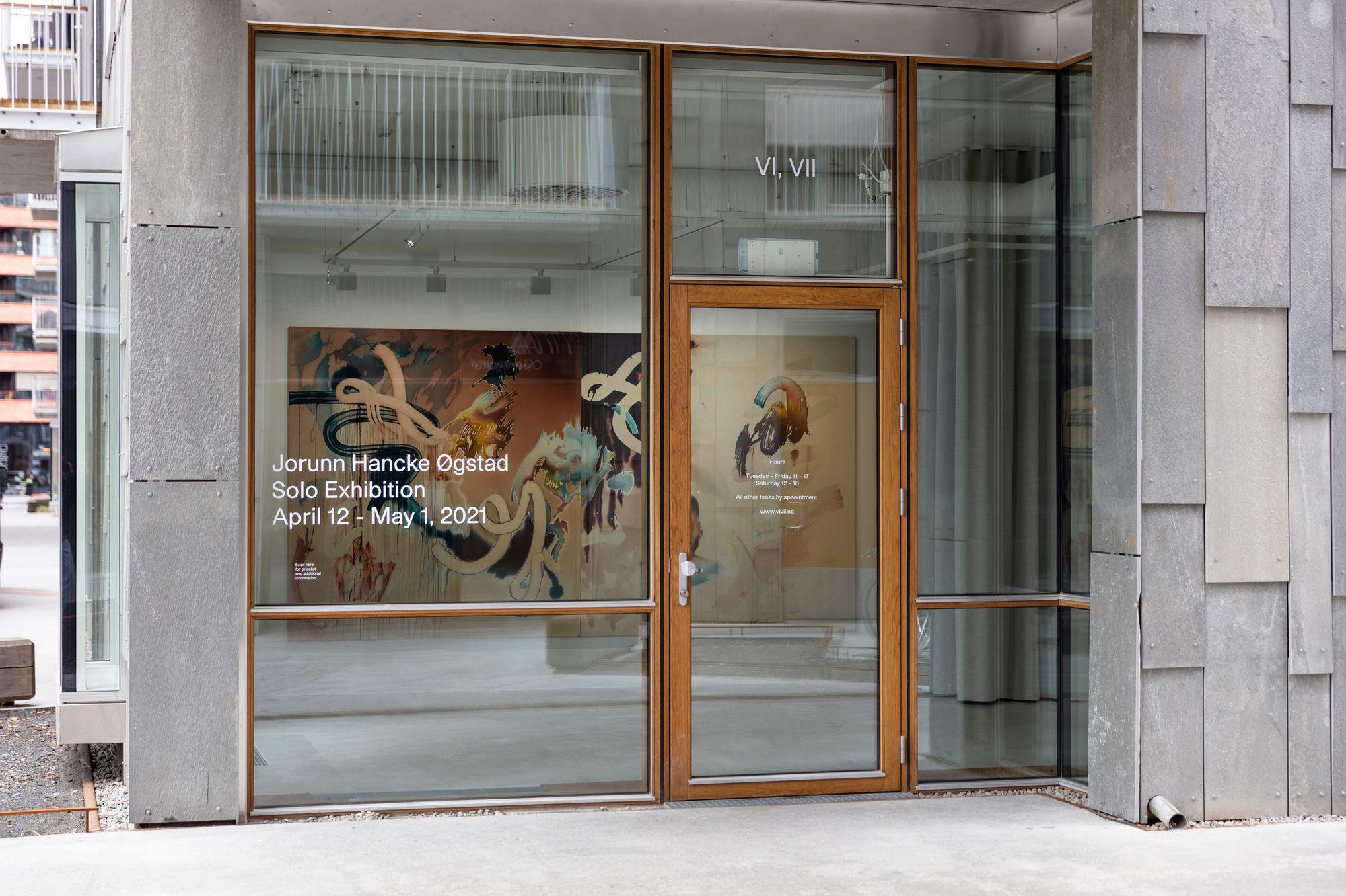 Utstilling med Jorunn Hancke Øgstad hos galleri VI, VII i Operagata
