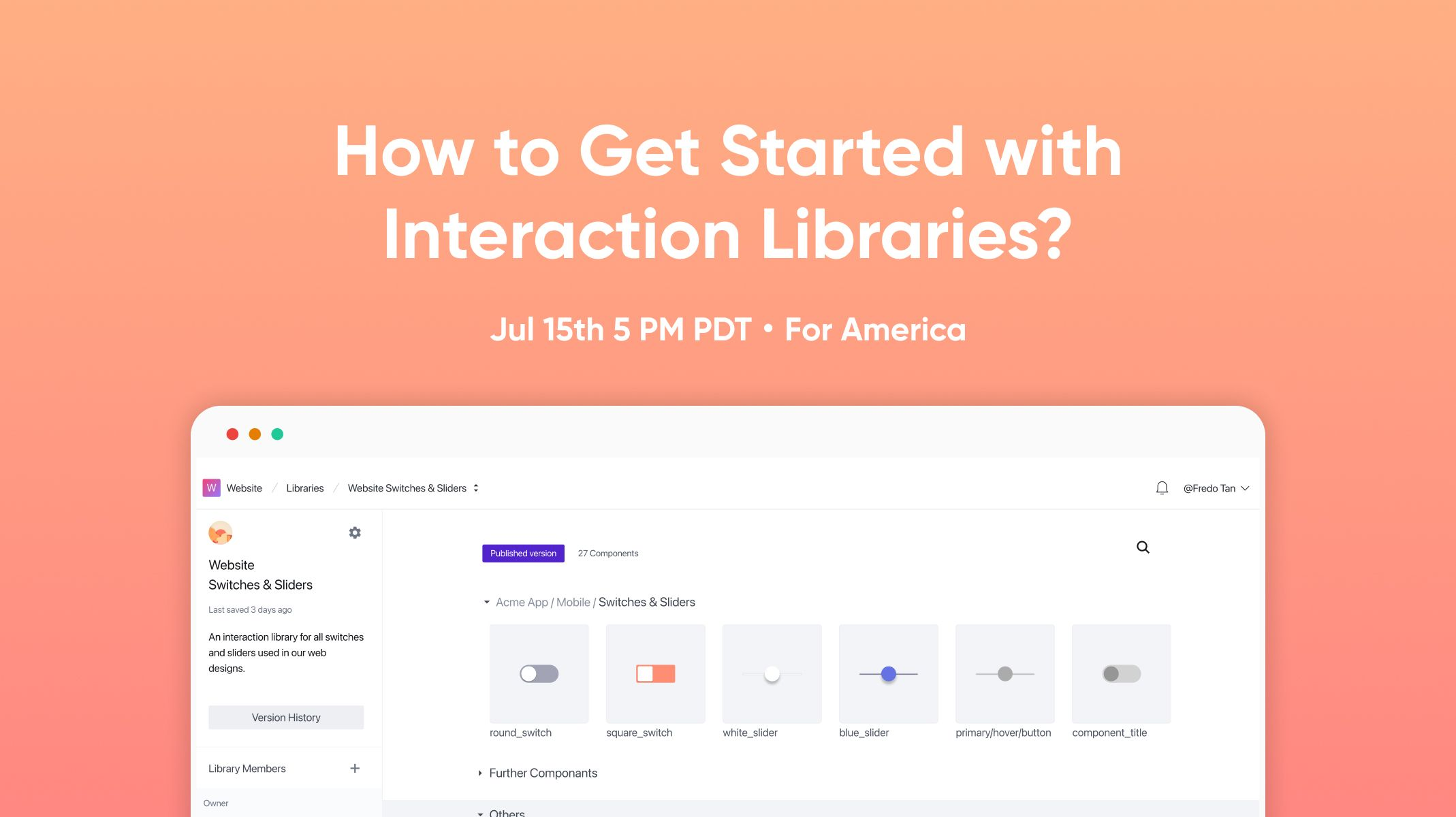 Get started with interaction libraries workshop thumbnail