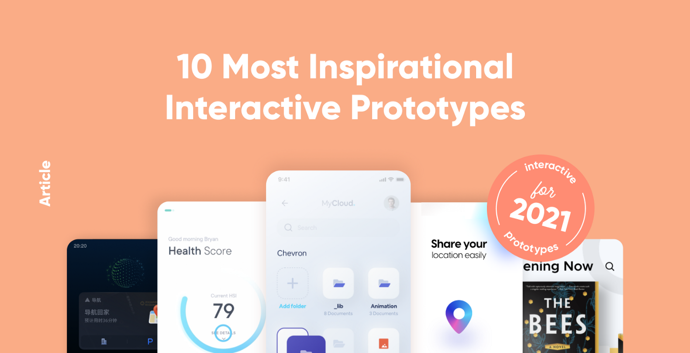 10 Most Inspirational Interactive Prototypes for 2021 thumbnail