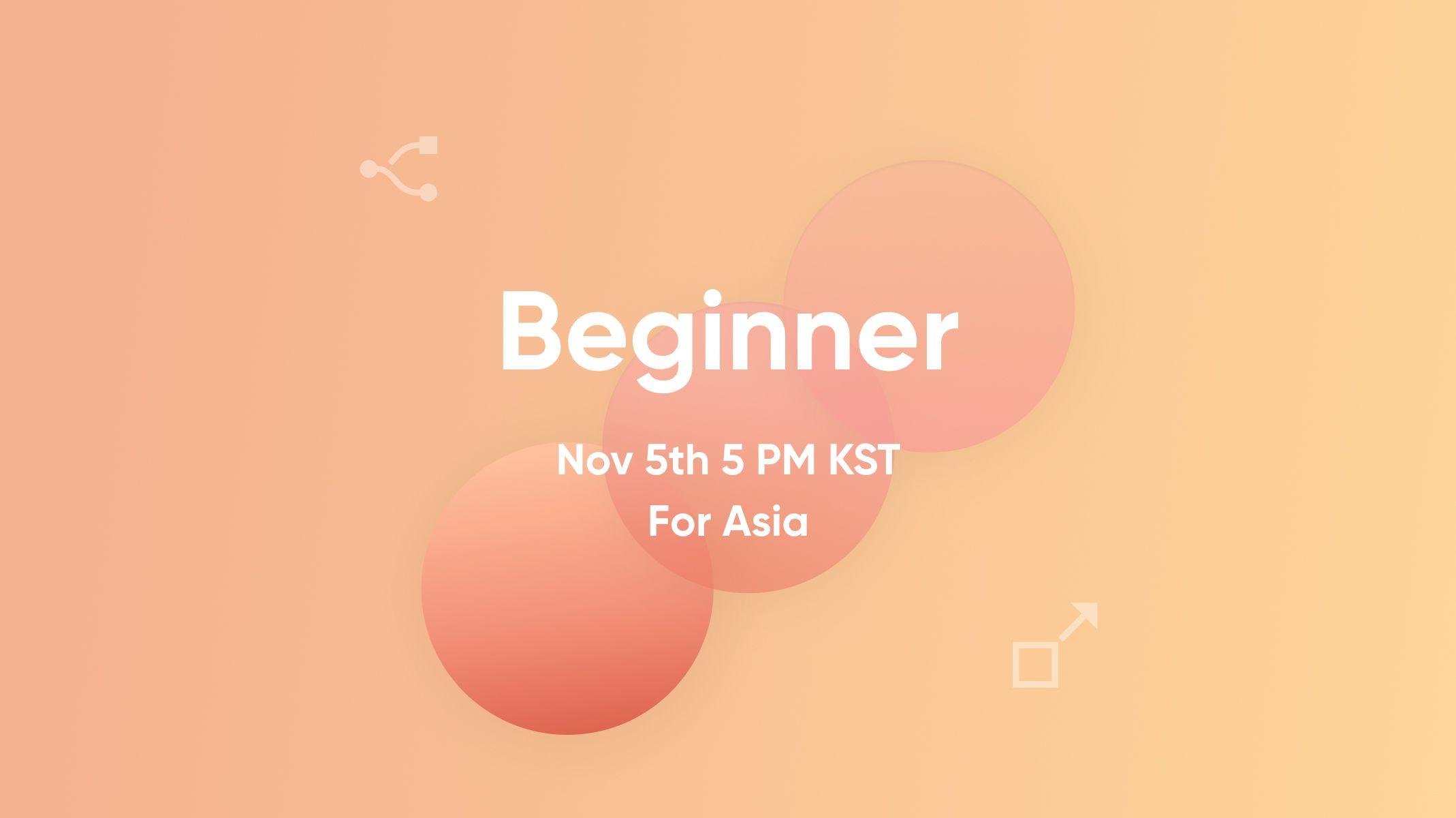 ProtoPie Beginner Workshop for Asia Thumbnail