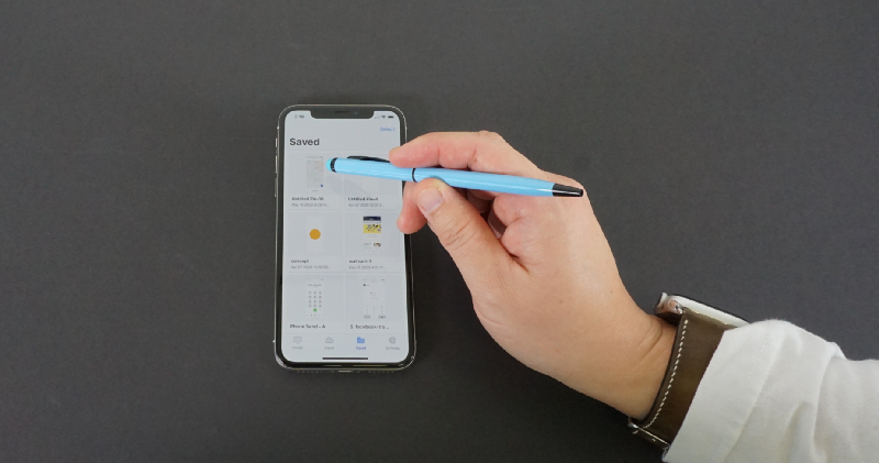 Using touch pen for iphone