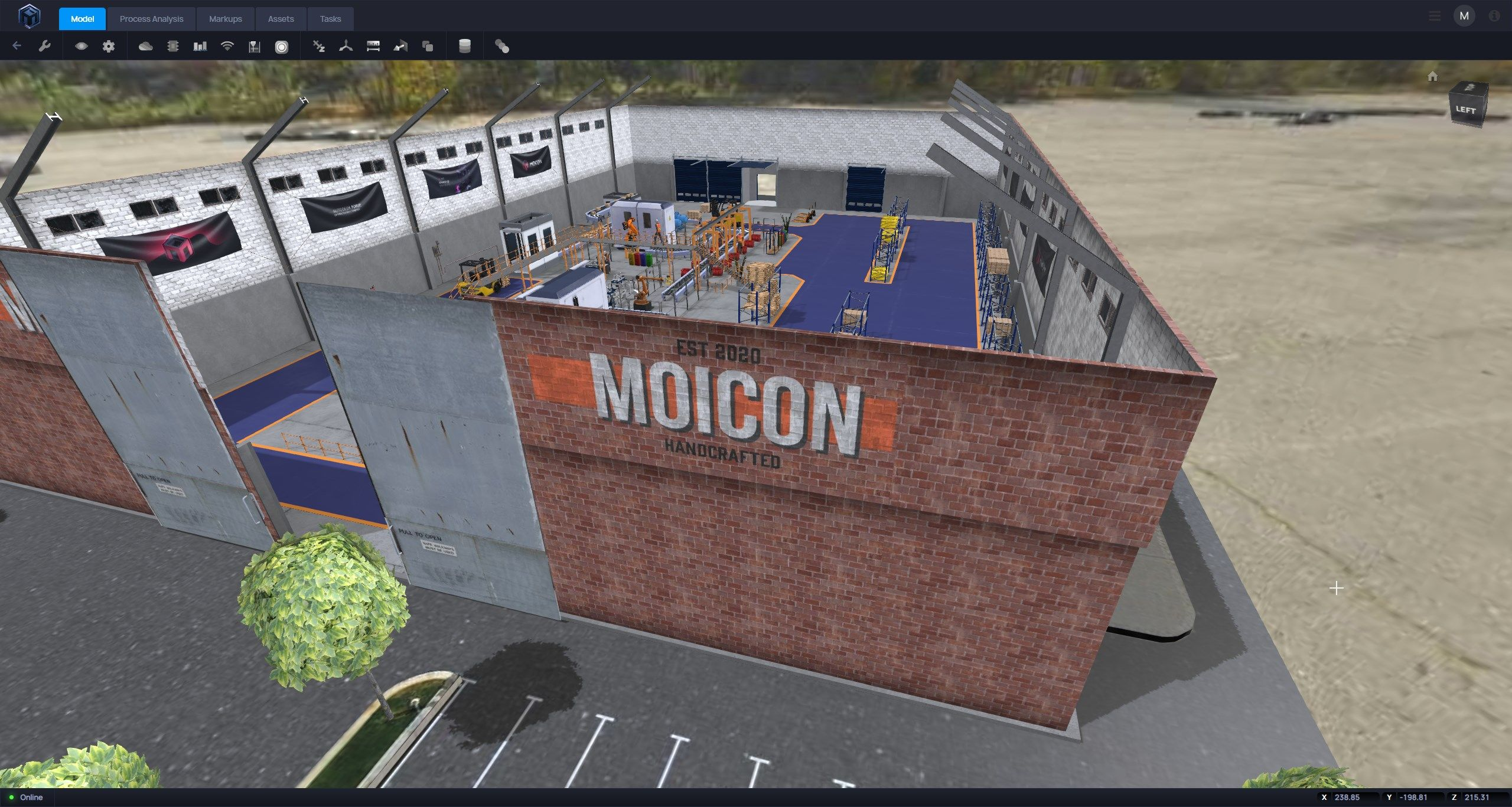 Thanks to Moicon you can publish your 3D models in a blink of an eye. Easy to use tool let's you solve the daily challenges