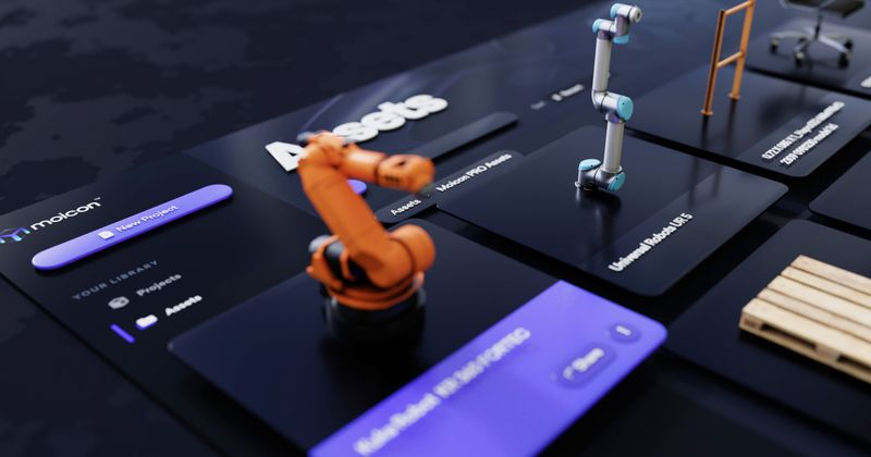 Robotic Arms and Digital Twins in Manufacturing