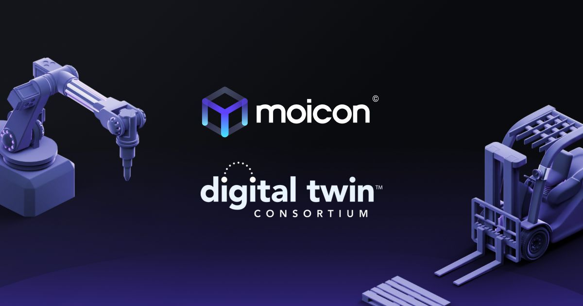 Norwegian-based Digital Twin Platform, Moicon©, Becomes Member of the Digital Twin Consortium