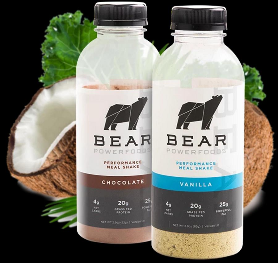 Bear Powerfoods - a keto-friendly, meal-replacement shake for health conscious consumers on the go
