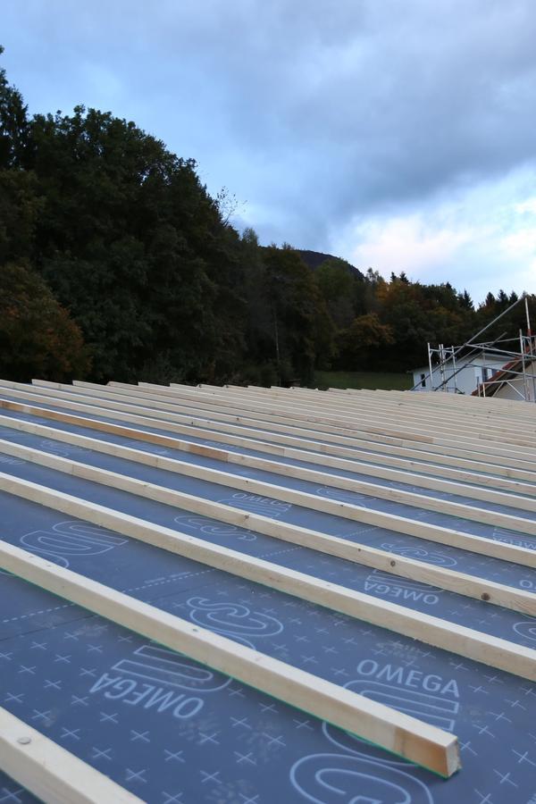 Engergetische Sanierung mit Holz
