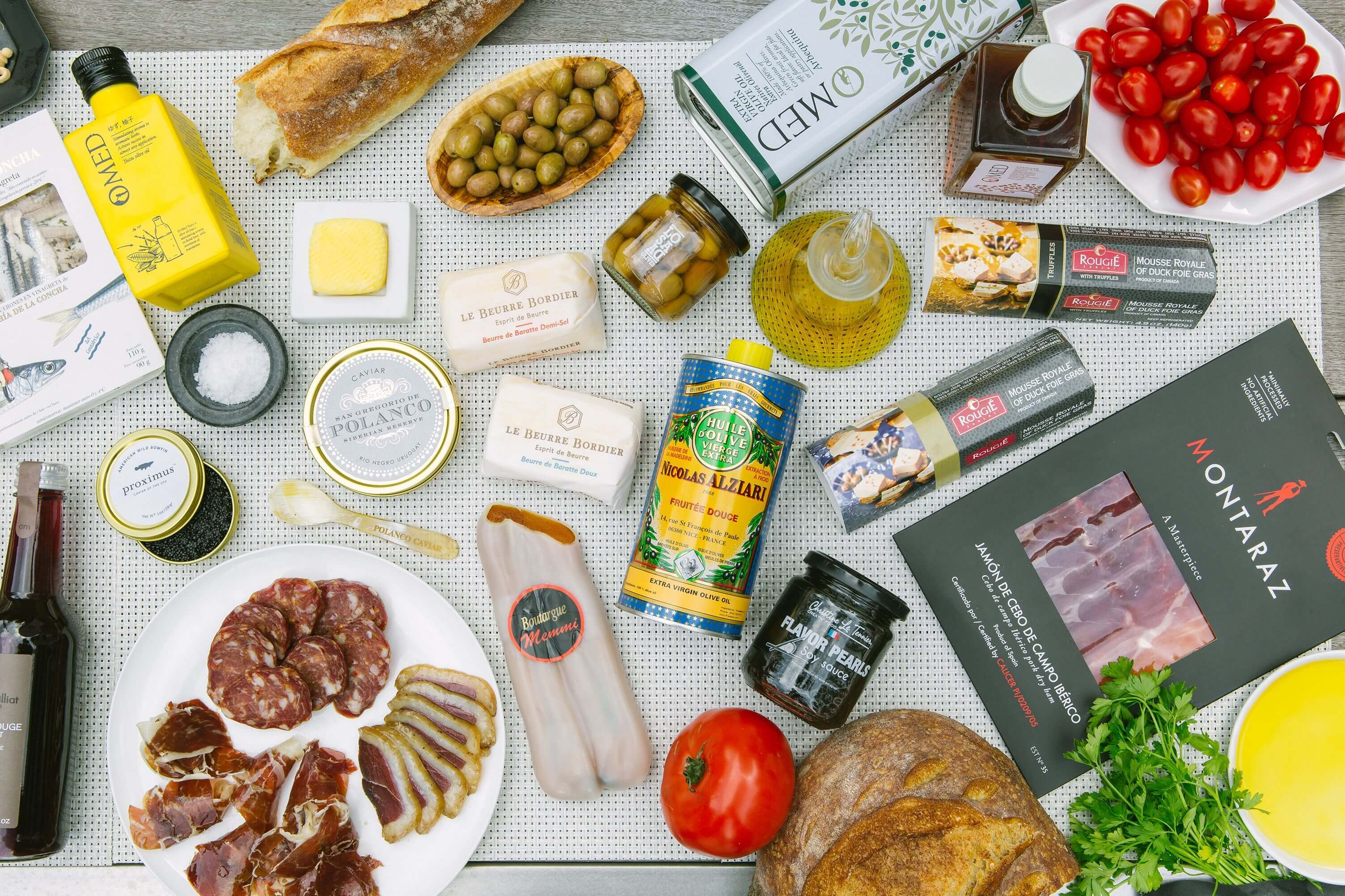 Assorted Gourmet Cargo products