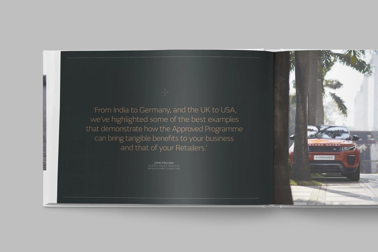 Jaguar Landrover inside book