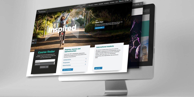 University of Gloucestershire Website