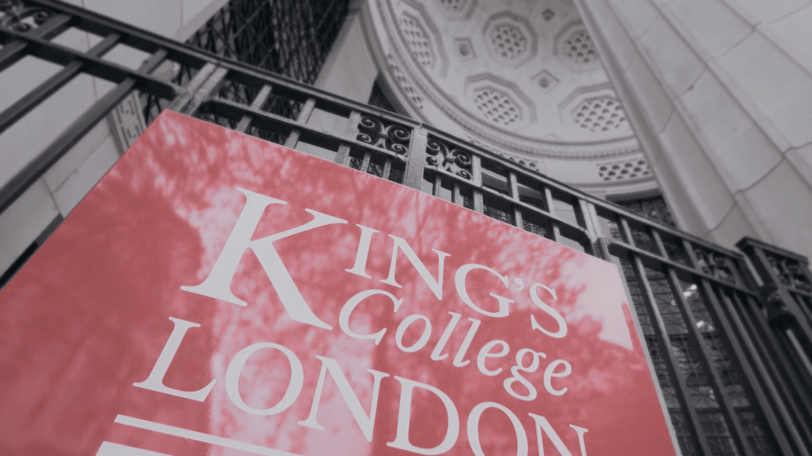 King's College London Sign