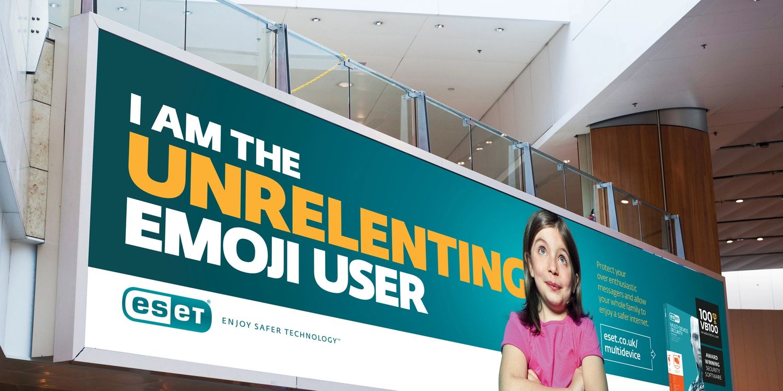 ESET Emoji User Campaign
