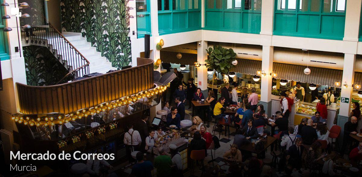 Mercado Gastronómico de Correos Murcia 1920x1080