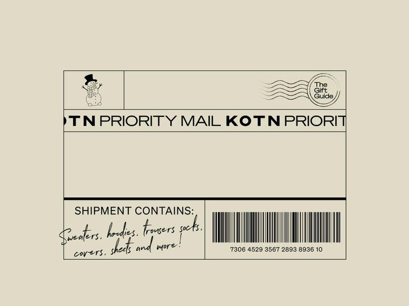 Kotn Gift Guide Stamp