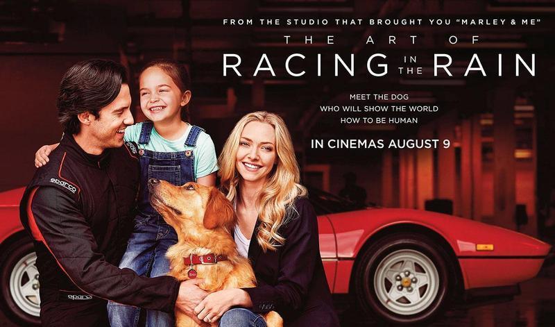 New film alert! The Art of Racing in the Rain