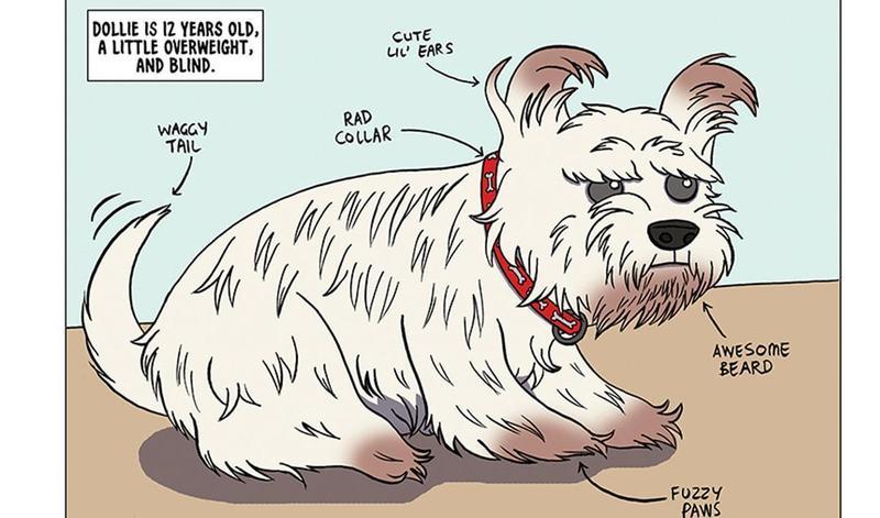 Dollie's comic | A comic from a BorrowMyDoggy member