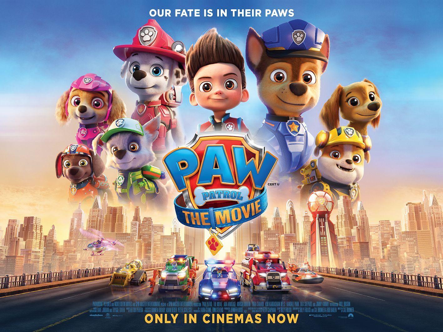 Paw Patrol film poster