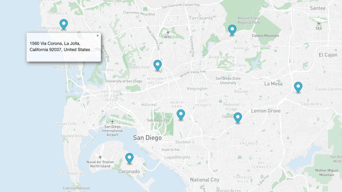 map marker mapbox