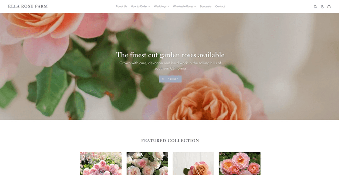 ella rose farm homepage