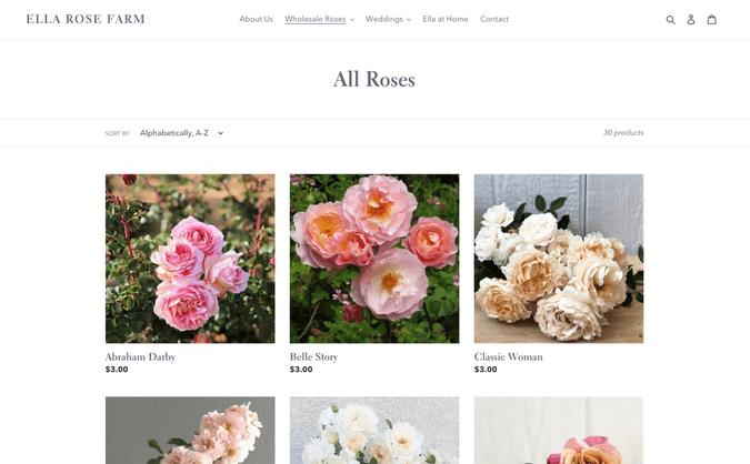 ella rose farm all roses