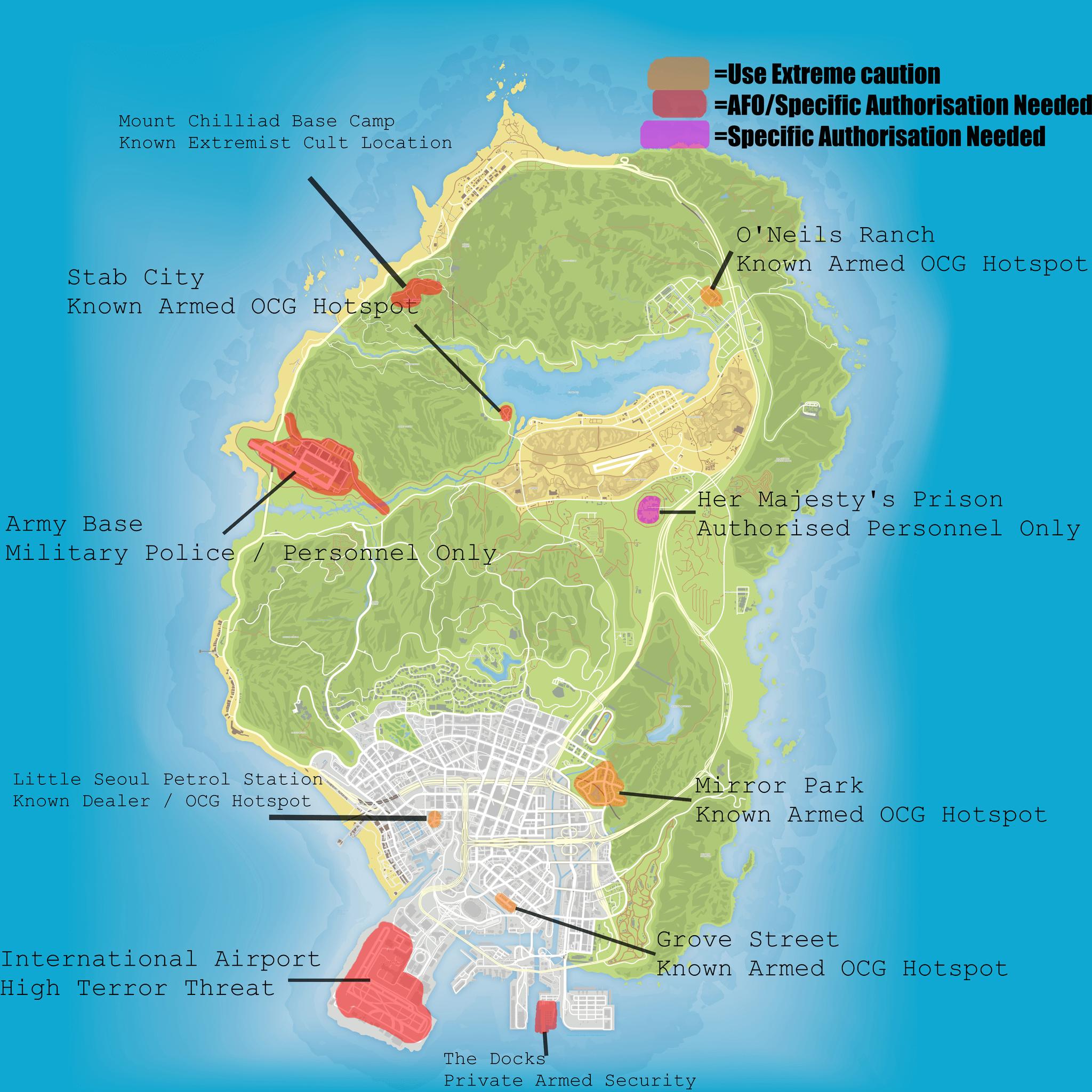 OCG Map