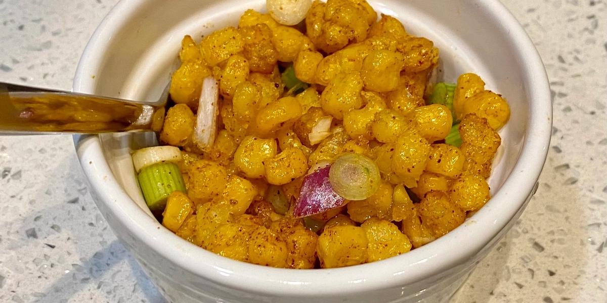 Indian-Style Crispy Fried Corn