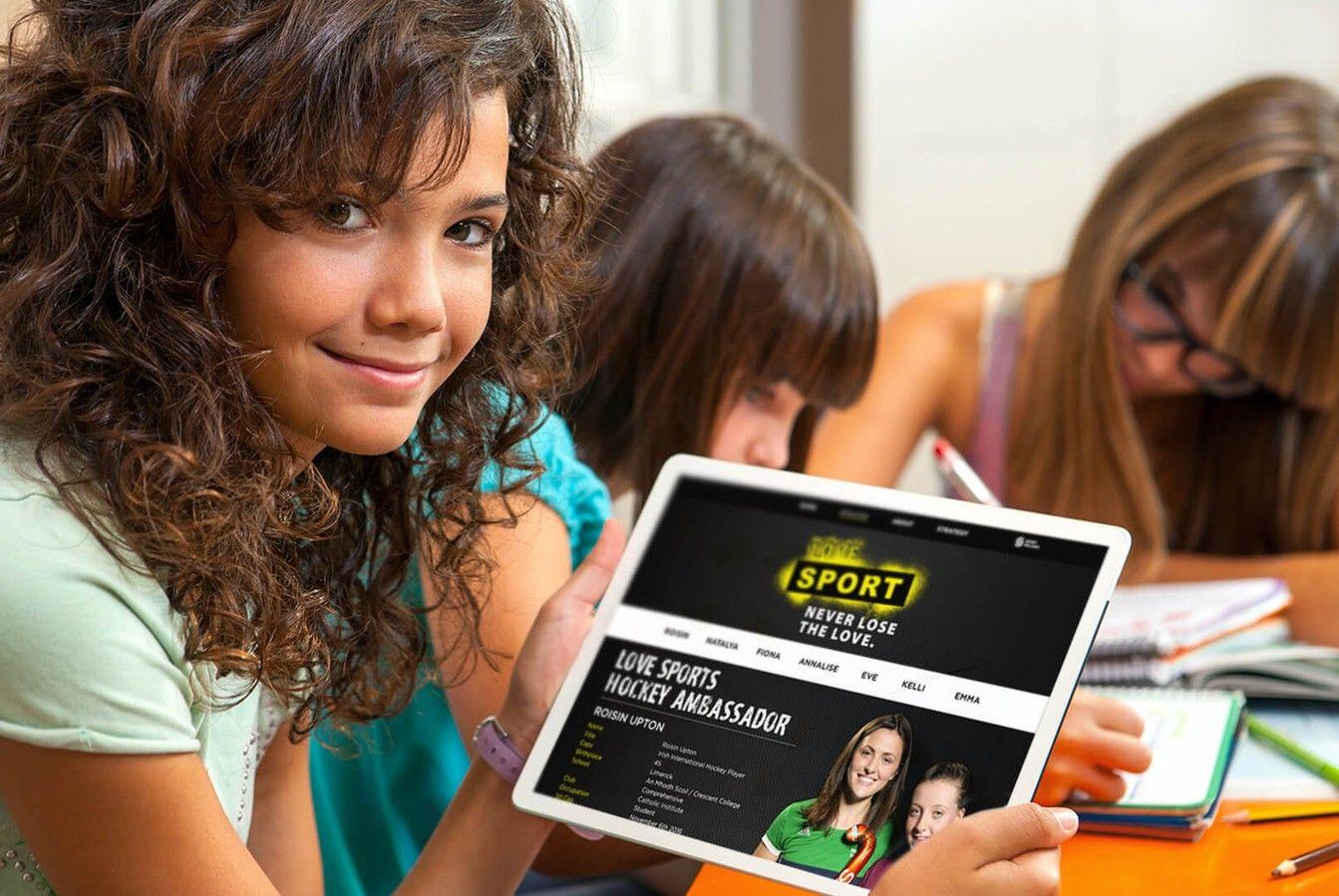Sport Ireland Creative Responsive Website