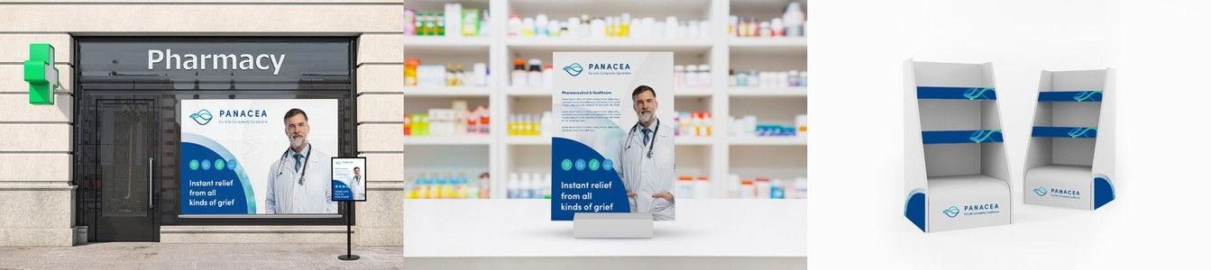 Pancea Healthcare Storefront Design