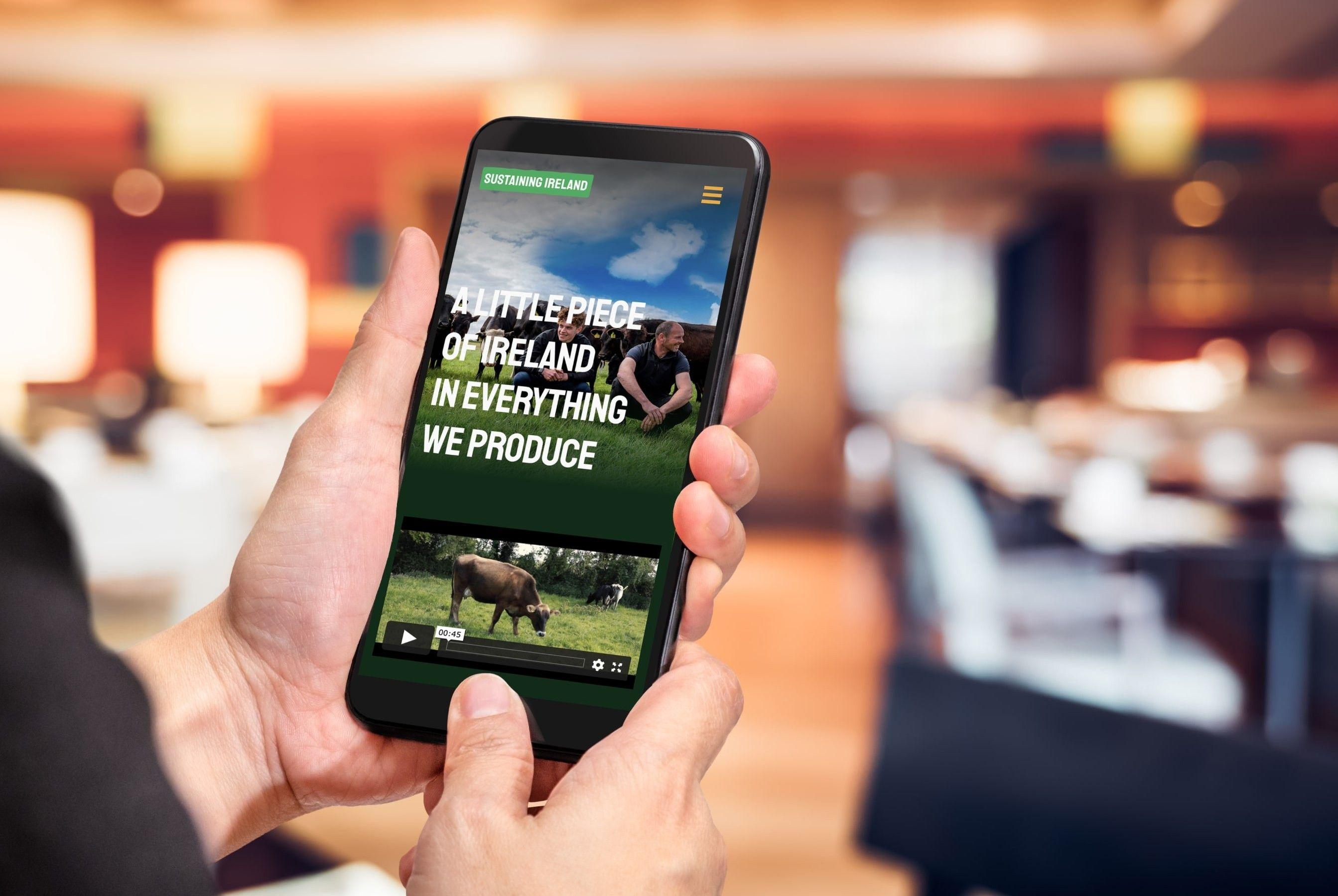 Agri Aware Sustaining Ireland Mobile