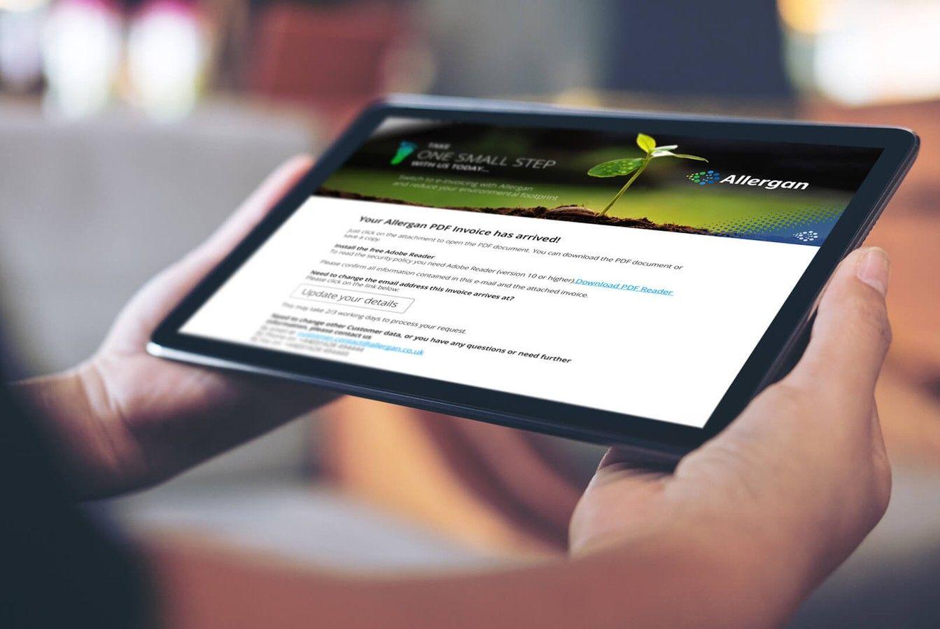 Allergan Healthcare Communications Responsive Website