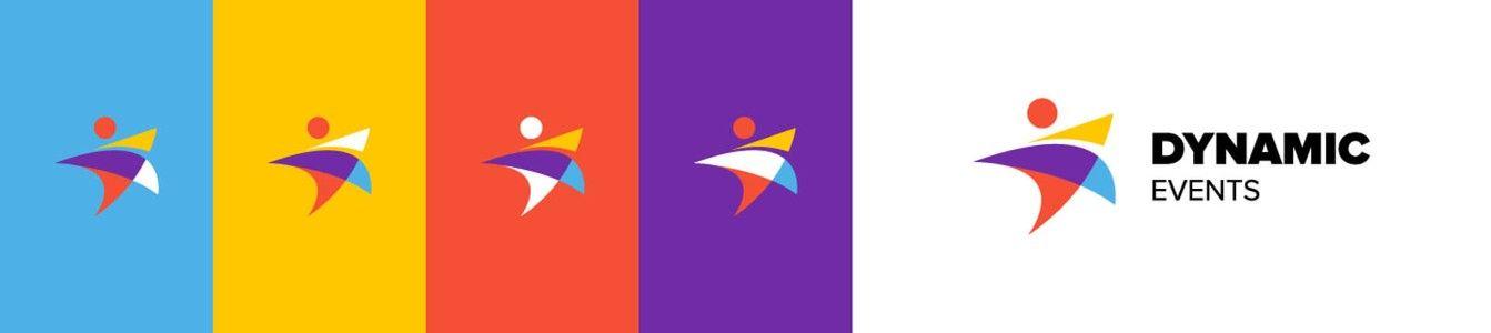 Dynamic Events Brandbook Colours