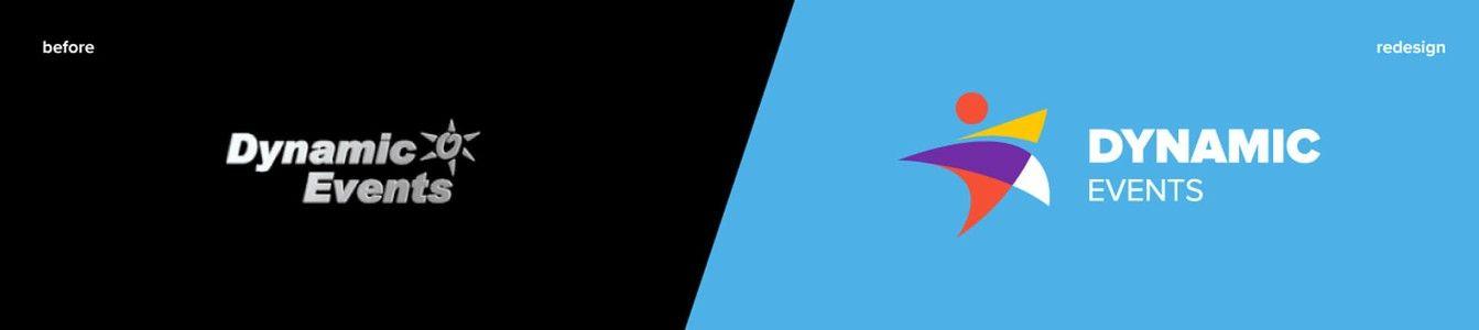 Dynamic Events Rebranded Logo