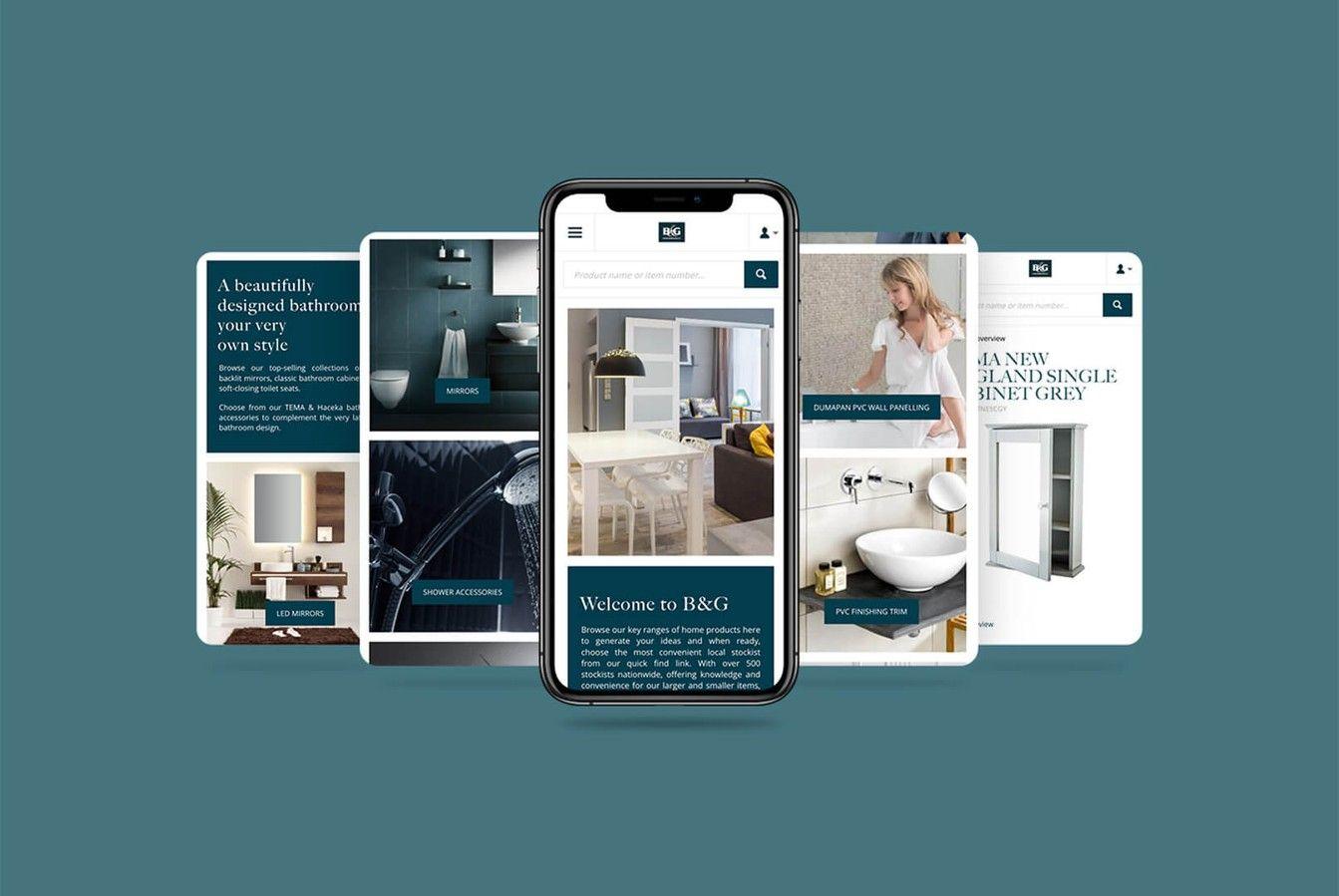 B & G Mobile Website