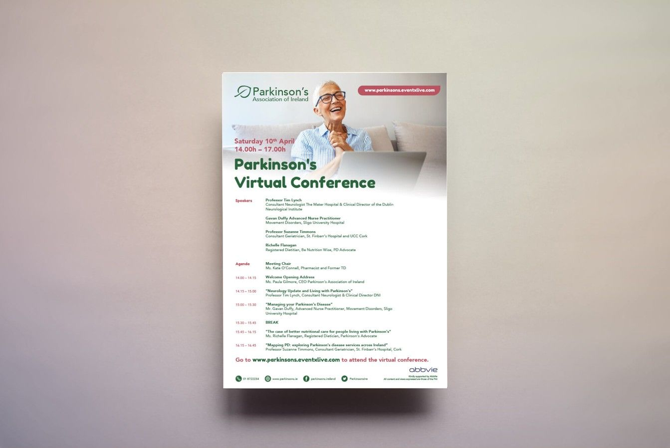 Parkinson's Association of Ireland Agenda